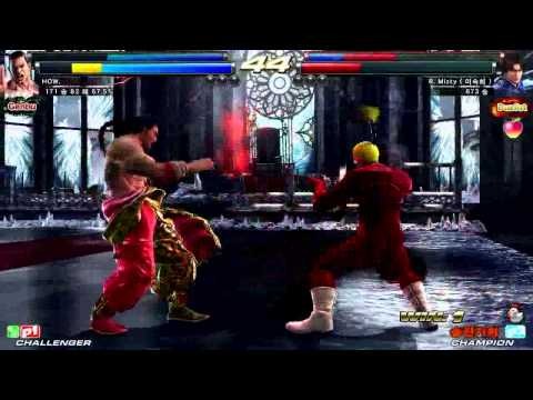 TEKKEN TAG2 UL 6/2 HAO VS MISTY