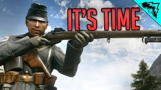 Sniper O'Clock - Battlefield 1 Rush Multiplayer Gameplay LIVE