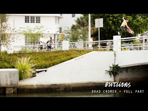 Brad Cromer in Outliers - TransWorld SKATEboarding
