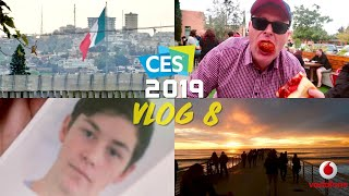 Road trip to Mexico, Meatballs, & John gets younger - CES 2019 thanks to Vodafone $5 a day roaming.
