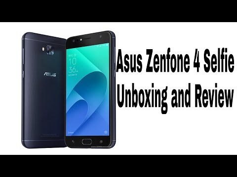 Asus Zenfone 4 Selfie Unboxing And Review( Rs 9,999) Only