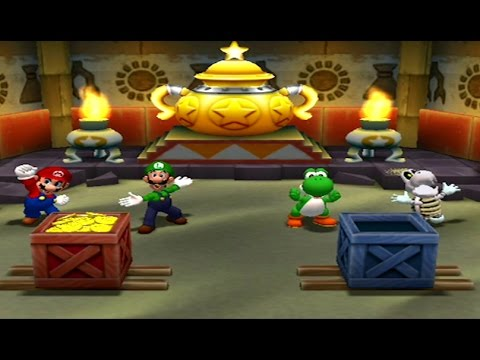 Mario Party 7 - Bowser's Enchanted Inferno Board (2 Player Party Cruise Mode)