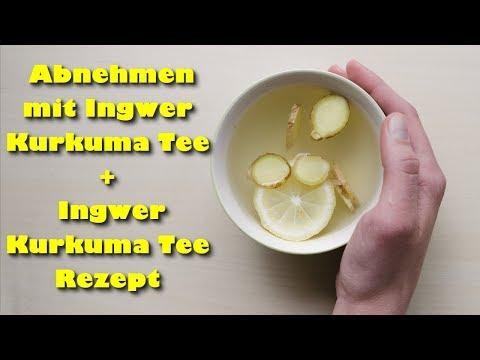 Abnehmen mit Ingwer Kurkuma Tee + Ingwer Kurkuma Tee Rezept