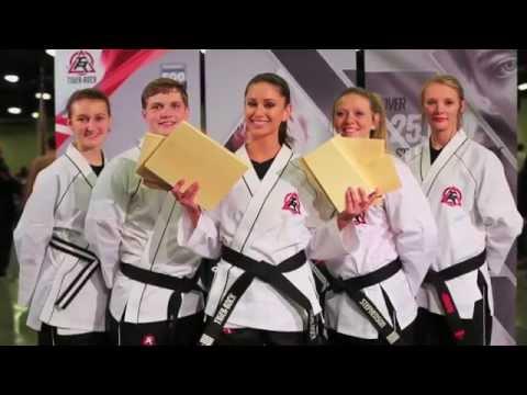 Miss USA Nia Sanchez Breaks Real Wooden Boards Using Taekwondo