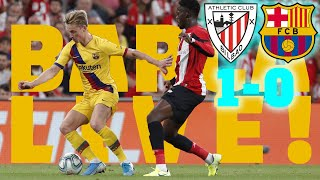 Athletic Club 1 - 0 Barça | BARÇA LIVE: Warm up & Match Center