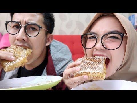 Makan Sarang Lebah Asli Rasanya Beda Part 2 Youtube