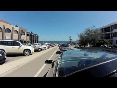 Testing the time-lapse setting @ 1 frame per second on my GoPro Hero 3. Applecross to Leighton Beach via Kwinana Freeway, Mounts Bay Road, Stirling Highway, ...