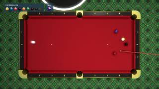 Nebula Realms Games: Pool Practice (1 player) #4 Perfect Game?