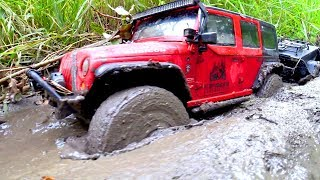 RC Cars MUD OFF Road 4x4 and Rescue RCs From Extreme Mud Part Two — RC Extreme Pictures