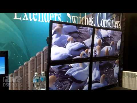 DSE 2015: Rose Electronics Exhibits UltraVista Plus Video Wall