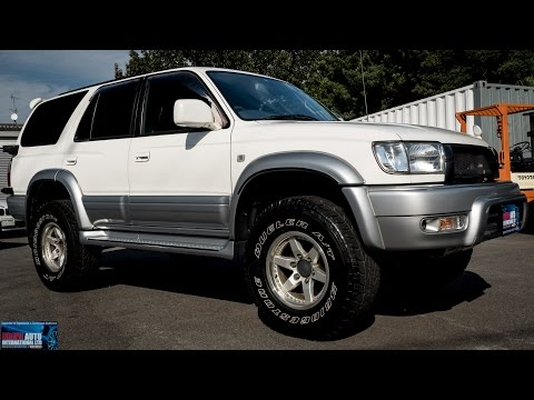 Walk Around - 1999 Toyota Hilux Surf 3 4L V6 SSR-X - Buy & Import from Japanese Auctions