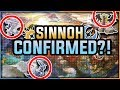 SINNOH CONFIRMED?! MAP REVEALS LEGENDARIES! POKEMON ULTRA SUN AND MOON THEORY AND DISCUSSION!
