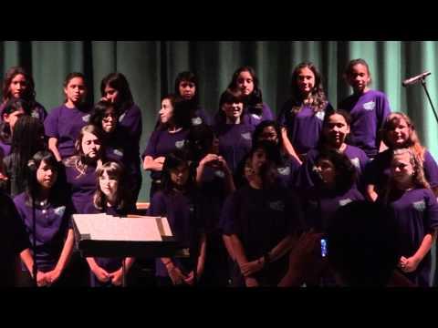 Van Nuys Middle School - Chorus - Oh Justin ... 2012