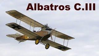 Albatros C.III, giant scale RC biplane, 2017