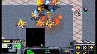 TURRET DEFENSE STARCRAFT (1PLAYER)