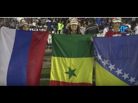 Mini-foot : Ambiance à Nabeul lors de la cérémonie d'ouverture