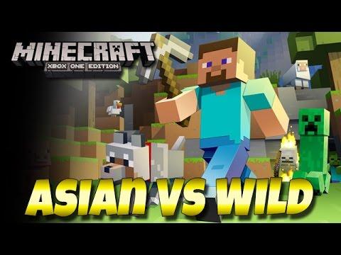Asian Vs Wild - Minecraft: Xbox One Edition (Walkthrough, Commentary)