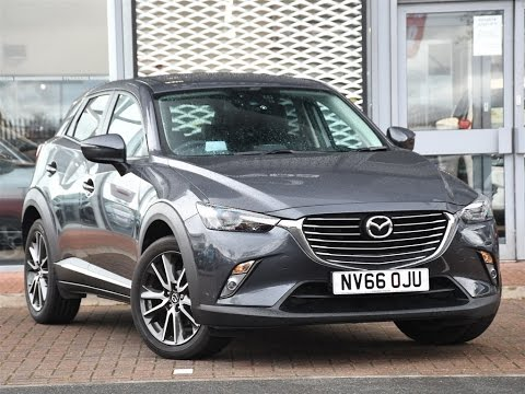 used mazda cx 3 1.5d sport nav 5dr grey 2017 youtube