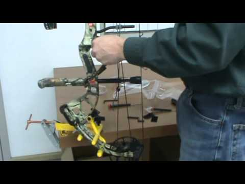 AAE DOA Arrow Rest - Easy Set up demonstration
