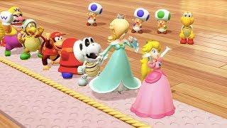 Super Mario Party - All Team Minigames | MarioGamers