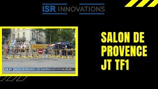 Salon de Provence  JT 20h TF1 Barrières anti voiture bélier