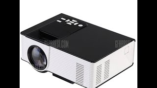 Unboxing & Full Review VS314 LED Projector 1500 Lumens 800 x 480 Pixels 1080P AV / VGA / HDMI / USB