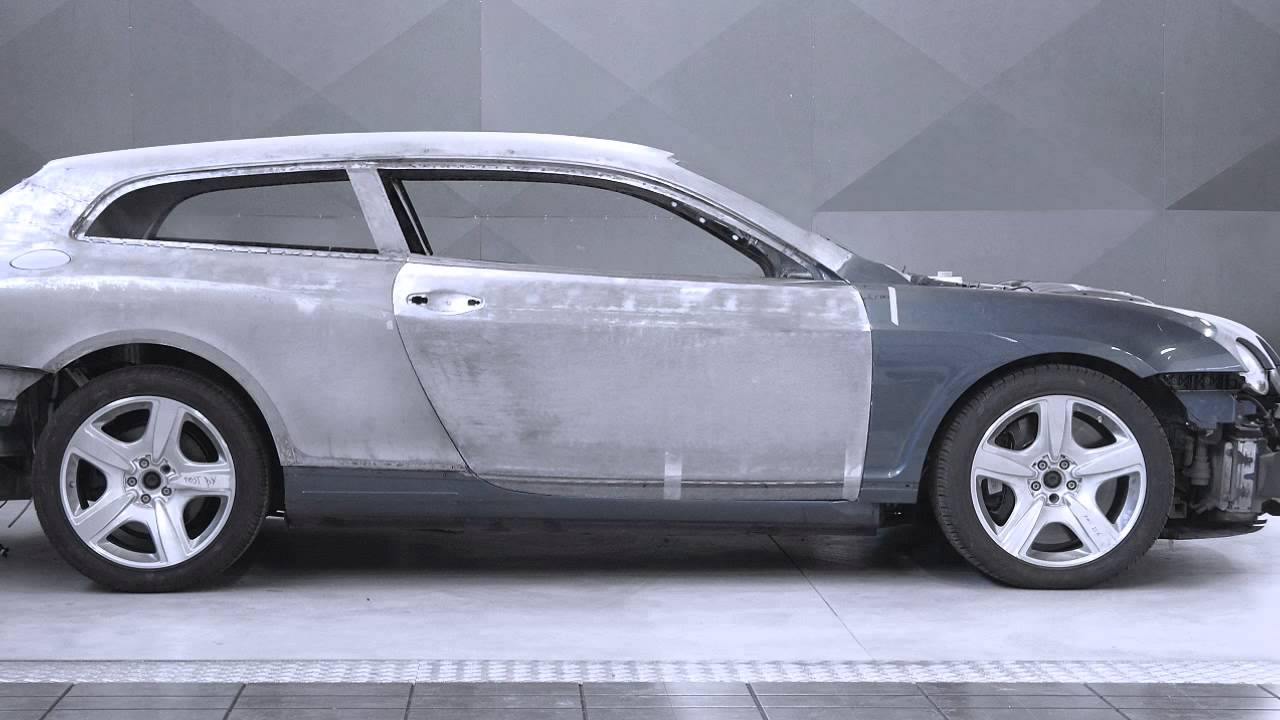 Making Of The Bentley Continental Flying Star Youtube
