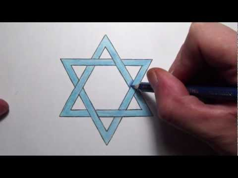 How to draw a star of david tattoo design how to save for How to draw something step by step