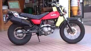 美人ライダー 美女 Suzuki VANVAN 200 バンバン200
