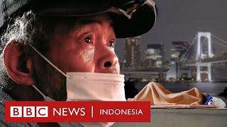 'Mereka ingin menyembunyikan kami': Nasib tunawisma Jepang saat Olimpiade - BBC News Indonesia