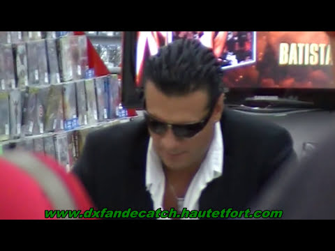 Alberto Del Rio signing session Brussels - dédicaces Bruxelles april/avril 2011