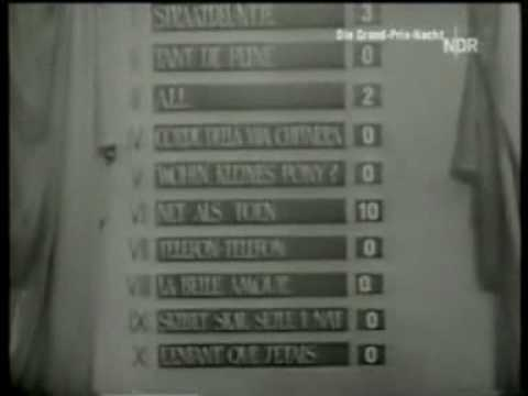 Eurovision 1957 - Voting Part 1/2