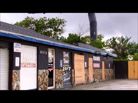 Abandoned Dusk til Dawn strip club (roof fire)