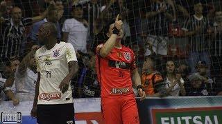 Gols Corinthians 3 x 2 Sorocaba - FINAL Jogo 1 Liga Paulista de Futsal 2017 (17/10/2017)