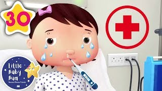 🚨 Staying in the HOSPITAL 🚨 | +More Baby Songs | Nursery Rhymes | Little Baby Bum