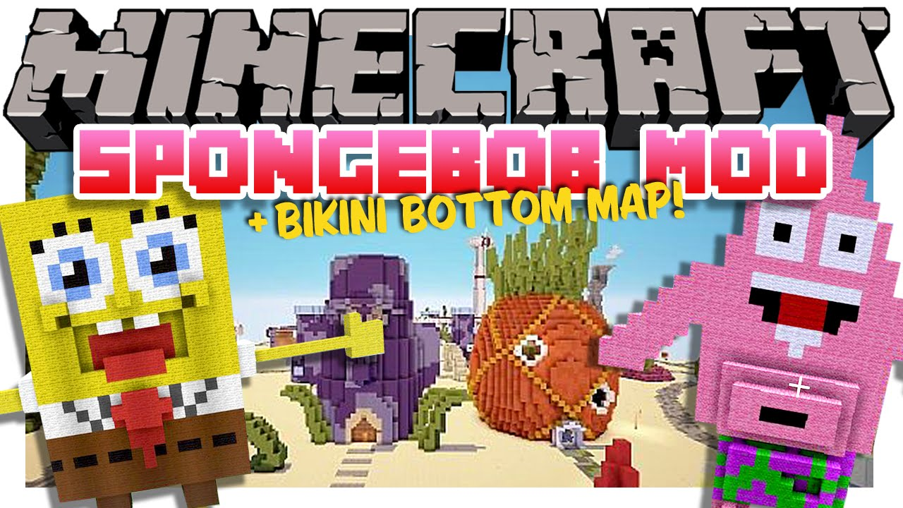 Bikini bottom spongebob map