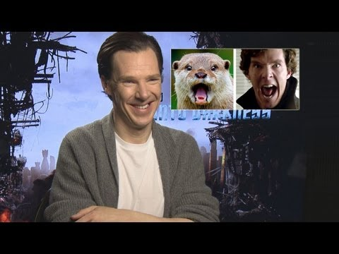 Benedict Cumberbatch Talks About His Otter Meme