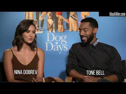 Blackfilm Com Interviews Nina Dobrev And Tone Bell On Dog Days