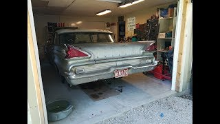 Part 11 Will It Run? 1959 Mercury Monterey Asleep For A Decade