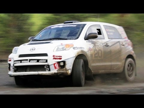 Rally Co-Driving with the Scion Racing Rally Team in the 2013 Scion xD - The J-Turn Ep. 10