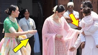 Saif Ali Khan Gets Angry On Kareena Kapoor Khan At Sonam Kapoor's Wedding Ceremony