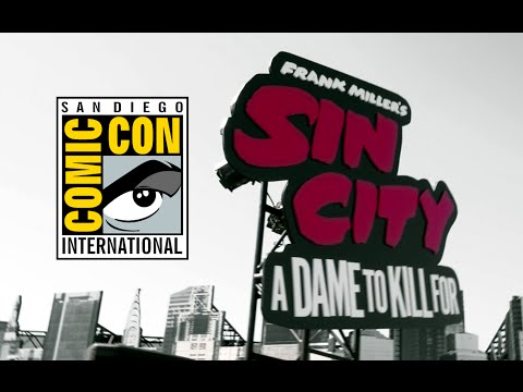 Comic Con 2014: Sin City: A Dame To Kill For Car Tour (2014) Joblo Hd video