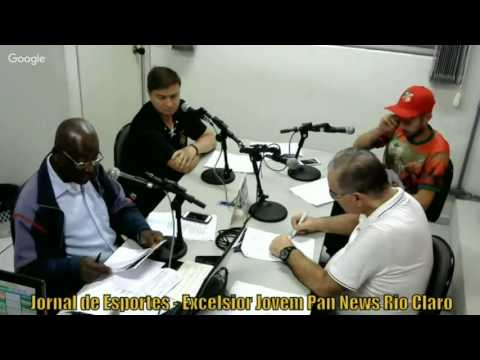 Jornal de Esportes - Excelsior Jovem Pan News Rio Claro - 27 05 2016