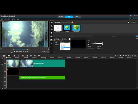Using Overlays in VideoStudio X8
