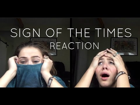 """REACTING TO HARRY STYLES """"SIGN OF THE TIMES"""""""
