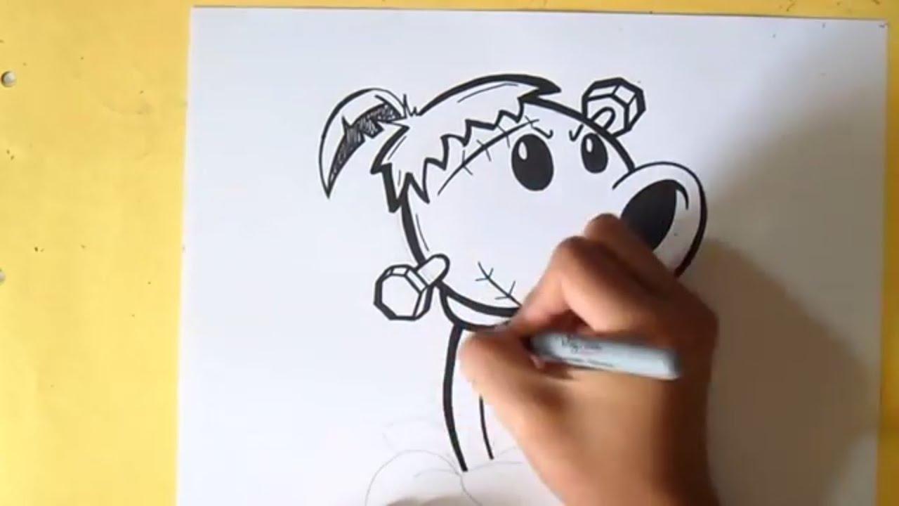 Comment dessiner plantes vs zombies youtube - Comment dessiner un zombie ...
