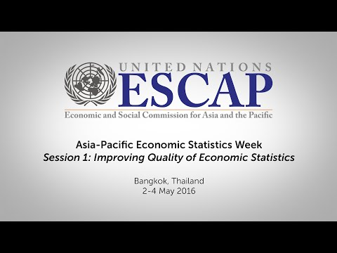 Asia-Pacific Economic Statistics Week - Opening & Session 1