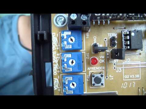 Automação - Motor deslizante SEG CH e Garen Placa GII 2 de 3