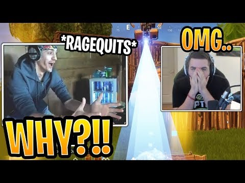 Ninja MAD At Courage's FAIL Losing Their Winning Streak! - Fortnite Best and Funny Moments