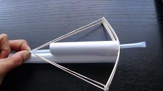 How to make a paper blow dart gun that shoots through cardboard